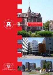 Kantorenmonitor Alkmaar - Gemeente Alkmaar