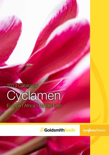 2013 Cyclamen Catalogue