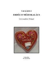 Tar Károly Erdélyi mézeskalács - MEK