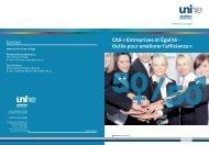CAS « Entreprises et Égalité - Outils pour améliorer l'efficience »