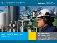 Better Tools for Better Plants - EERE - U.S. Department of Energy