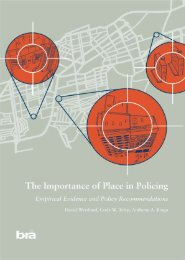 The Importance of Place in Policing - Empirical Evidence and Policy ...