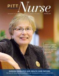 nursIng research and heaLTh care reforM - School of Nursing