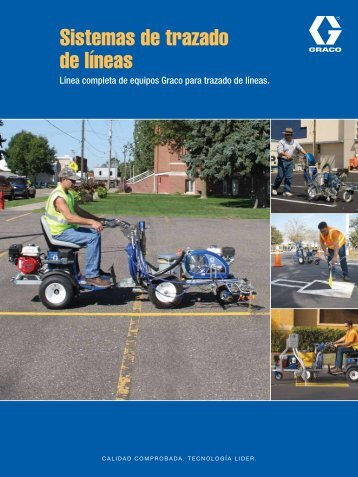 341457B Line Striping Brochure Spanish - Graco Inc.