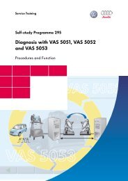 ssp295 Diagnose mit VAS 5051, VAS 5052 sowie VAS ... - Volkspage