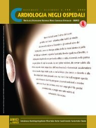 Cardiologia negli Ospedali n° 148 Novembre/Dicembre 2005 - Anmco