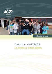 Transports scolaire 2011-2012 - Conseil général du Morbihan