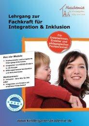 Fachkraft für Integration & Inklusion - Akademie für Kindergarten ...
