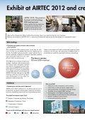 Exhibit at AIRTEC 2012 - Page 2