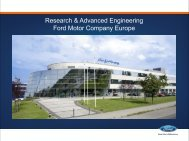 Research & Advanced Engineering Ford Motor Company ... - EOQ