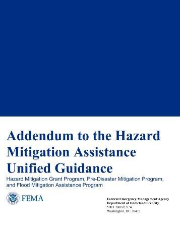 (HMA) Guidance - Federal Emergency Management Agency
