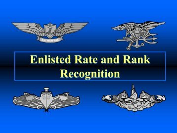 3-1 Enlisted Rank and Rate - NavyGirl.org
