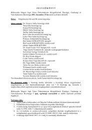 JEGYZ Ő K Ö NYV Békéscsaba Megyei Jogú Város Önkormányzat ...