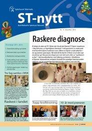 ST-Nytt nr. 13, 2012 - Sykehuset Telemark