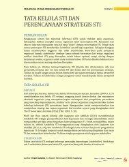 tata kelola sti dan perencanaan strategis sti - Blog Sivitas STIKOM ...