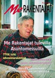 Me Rakentajat tulevilla Asuntomessuilla - Rakentaja.fi