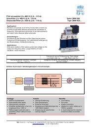 CNW 933- Filtri di uscita sinusoidali 3 x 2-115 A, 3 x ... - Reo Italia Srl