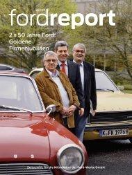 2 x 50 Jahre Ford: Goldene Firmenjubiläen