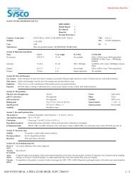1049 SYSCO REAL A PEEL CLNR DEGR. SUPC 7206519