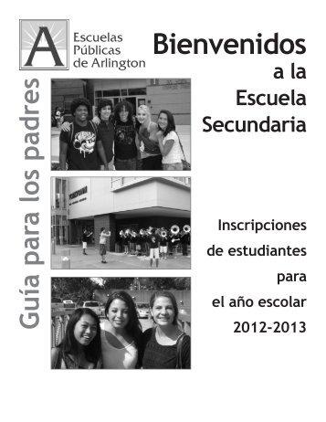 Bienvenidos - Arlington Public Schools