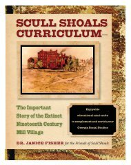 Scull Shoals Introduction - Friends of Scull Shoals