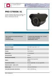 PRO-5790SN/41-3.6 - CCTV Center