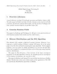 1 Overview references 2 Gaussian Random Fields 3 Mixture ... - iucaa