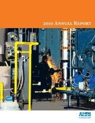 2010 Annual Report - AHRI