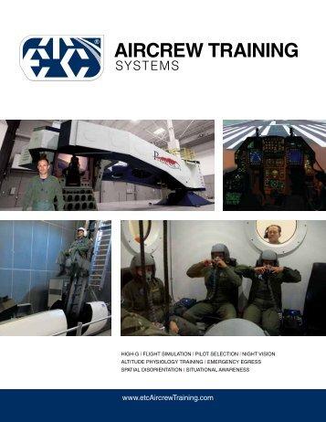 2013 ATS Brochure - ETC Aircrew Training Systems