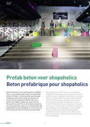 Beton prefabrique pour shopaholics Prefab beton voor ... - Febe