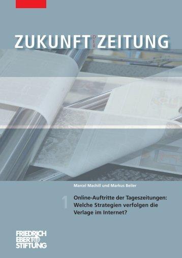 ZUKUNFT ZEITUNG Online-Auftritte der Tageszeitungen