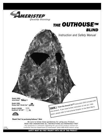 Instruction and Safety Manual - Ameristep