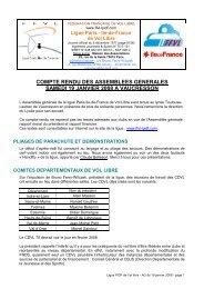 CR AG de la ligue PIDF janvier 2008 - Ligue Paris Ile de France de ...
