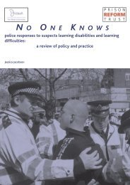 No One Knows - Police Responses to suspects learning disabilities ...