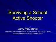 Surviving a School Active Shooter