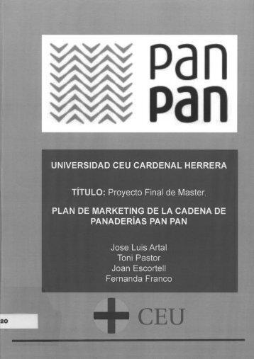 Plan de marketing para la cadena de Panaderías ... - DSpace CEU
