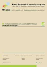 Valutazione PSC Associato_Cap. 1-7 - Comune di Faenza