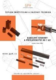 GPH kabelové soubory - Nexans Power Accessories Germany GmbH