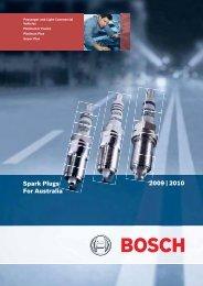 2009 ñ 2010 Spark Plugs For Australia