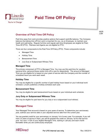 Paid Travel Time Policy