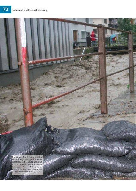 Kommunal: Katastrophenschutz
