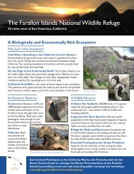The Farallon Islands National Wildlife Refuge - PRBO Conservation ...