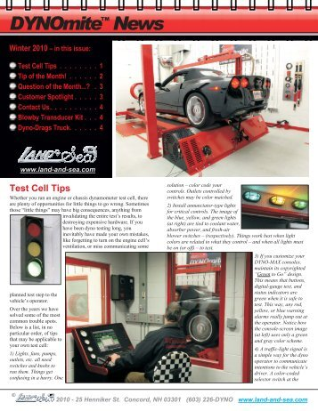 Newsletter39 - Winter 2010.vp - DYNO-mite Dynamometer