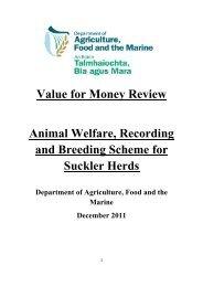 Animal Welfare, Recording and Breeding Scheme for Suckler Herds