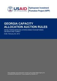 georgia capacity allocation auction rules - Hydropower Investment ...