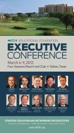 Download the full Executive Conference brochure here - Hida