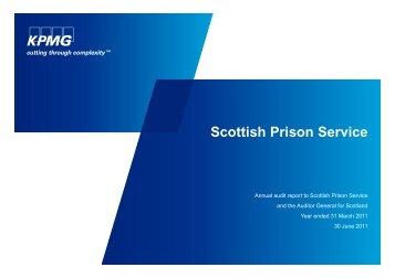 Scottish Prison Service (PDF | 176 KB)Opens in ... - Audit Scotland