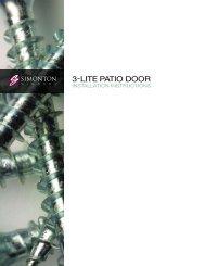 3-lite Patio Door - Home Doors & Windows