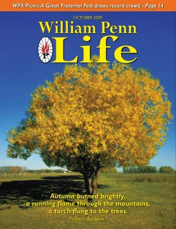 the life of william penn Alive with opportunity with us, opportunity is real our diversity lights the path to a deeper understanding of the world our community is alive, delivering the opportunity for education to all.