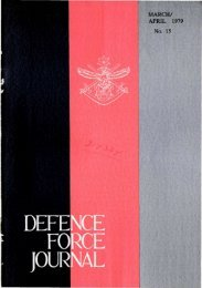 ISSUE 15 : Mar/Apr - 1979 - Australian Defence Force Journal